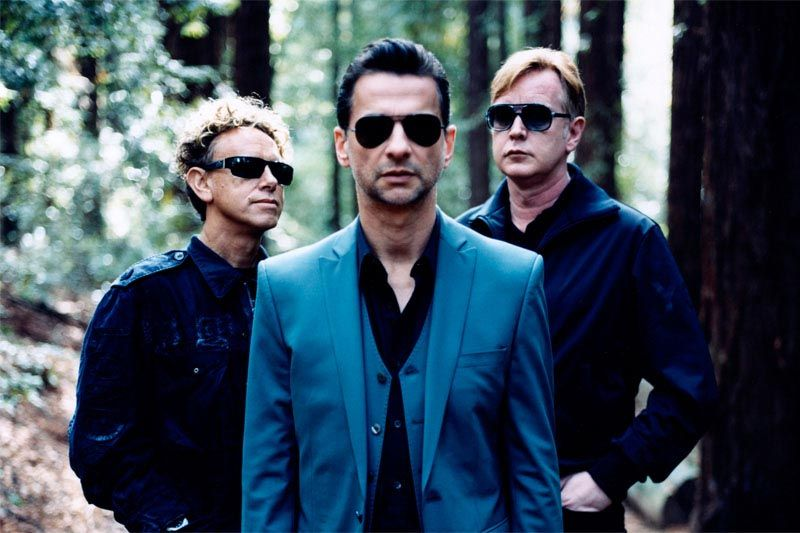 Depeche Mode in studio